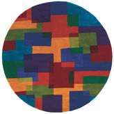 Momeni New Wave 49 Hand Tufted Round Rugs