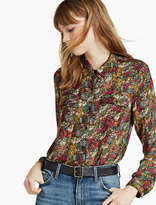 Lucky Brand Ditsy Western Shirt