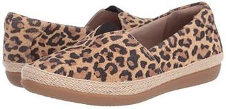 Clarks Danelly Sky (Tan Leopard Suede) Women's Shoes