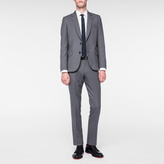 Paul Smith Men's Tailored-Fit Grey Wool 'Suit To Travel In'