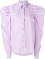Marques Almeida Marques'almeida - wide-shoulder shirt - women - Cotton - XS