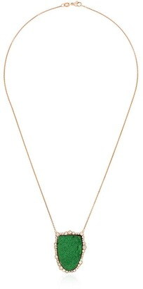 Kimberly 18kt Rose Gold Diamond Pendant Necklace