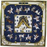 One Kings Lane Vintage Framed Hermès Equitation Japonaise Scarf