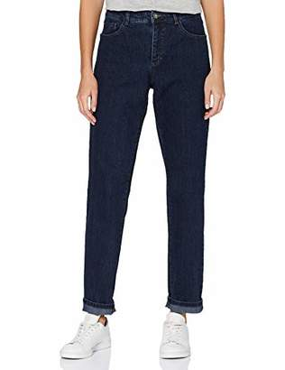 GINA LAURA Women's Jeans, Carla Ng Five Pocket Style Straight,20 (Size: )