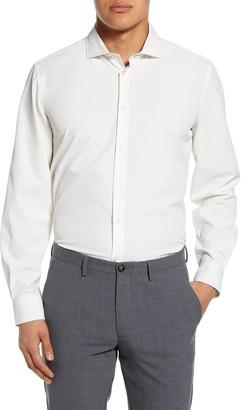 Report Collection Pattern Modern Fit Dress Shirt