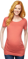 A Pea in the Pod Knot Front Maternity T Shirt