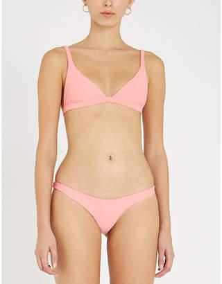 LES GIRLS LES BOYS Classic triangle bikini top