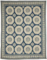 OKA Cimkent Large Handwoven Rug, Blue