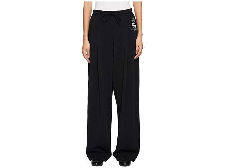 Yohji Yamamoto Lux Wide Pants Women's Casual Pants