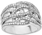 Lord & Taylor 14 Kt. White Gold Diamond Ring