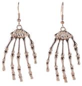 George Halloween Skeleton Hands Earrings