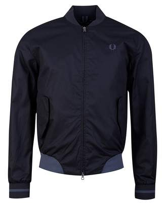 Fred Perry Authentics Twill Bomber Jacket Colour: BLACK, Size: SMALL