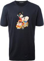 Dolce & Gabbana family men embroidered T-shirt