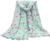 VANKER Fashion Women Scarf With Chic Dragonfly Design Soft Voile Shawl/Pashmina Lovely