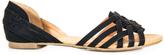 Paprika Black Scoria Sandal