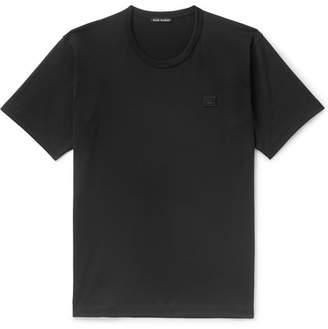 Acne Studios Nash Logo-Appliqued Cotton-Jersey T-Shirt
