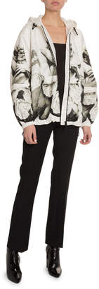 Valentino Lovers Graphic Nylon Jacket