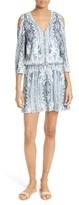 Alice + Olivia Women's Jolene Cold Shoulder Shift Dress
