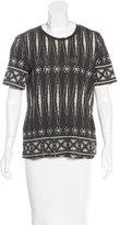 Tory Burch Bologan Knit T-Shirt w/ Tags