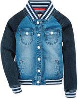 Tommy Hilfiger Baseball Jacket, Big Girls (7-16)