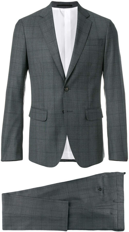 DSQUARED2 Capri two-piece checked suit