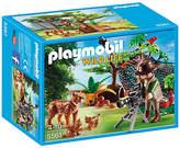 Playmobil 5561 Wild Life Lynx Family with Cameraman