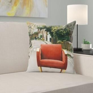 East Urban Home Chair Throw Pillow East Urban Home