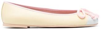 Pretty Ballerinas Sophia tie ballet shoes