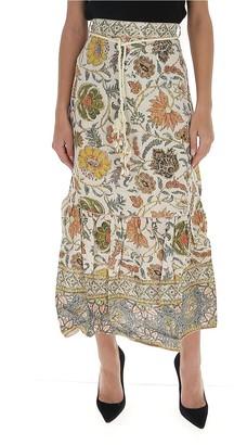 Zimmermann Paisley Print Maxi Skirt