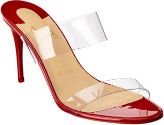 Christian Louboutin Just Nothing 85 Patent Mule