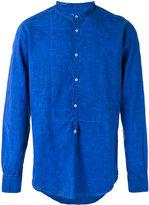 Massimo Alba band collar shirt