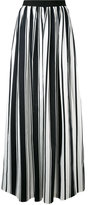 Blugirl striped maxi skirt