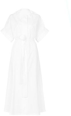 Esse Studios Cotton Poplin Shirt Dress