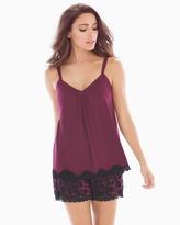 Soma Intimates Shorts Pajama Set Lovely Leopard Marsala