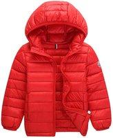 Tortor 1Bacha Baby Kid Boys' Packable Hooded Down Puffer Jacket