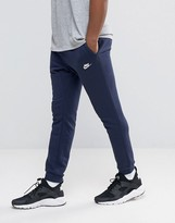 Nike Skinny Joggers In Blue 804465-451