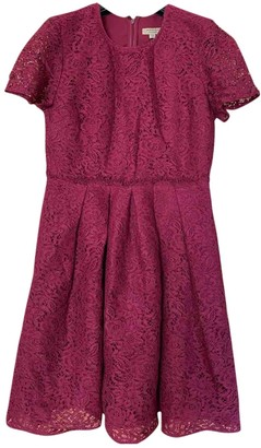 Burberry Pink Lace Dress for Women