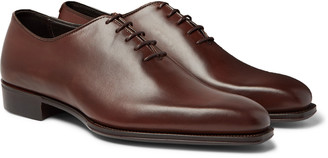 Kingsman + George Cleverley Whole-Cut Leather Oxford Shoes