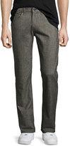 J Brand Kane Straight-Leg Washed Melange Jeans