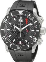 Edox Men's 10020 3 NIN Chronoffshore Analog Display Swiss Quartz Watch