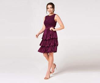 Oasis CROCHET TIERED DRESS*