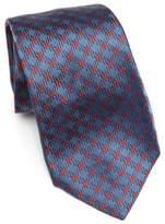 Kiton Silk Check Tie