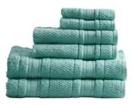 Madison Home USA Essentials Adrien Cotton 6-Pc. Super-Soft Towel Set Bedding