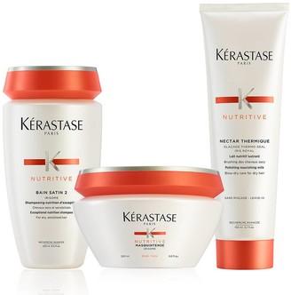 Kérastase Nutritive Brittle And Dry Hair Deep Treatment Hair Care Set
