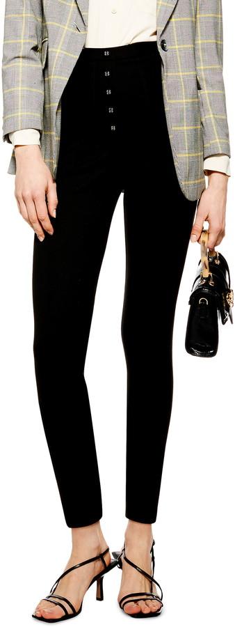 Topshop Skinny Capri Trousers