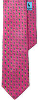 Polo Ralph Lauren Golfer-Print Silk Narrow Tie