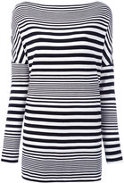 I'M Isola Marras striped top - women - Spandex/Elastane/Viscose - M
