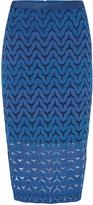 Oxford Charlotte Lace Skirt Petrol X