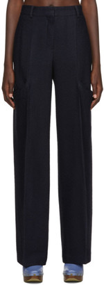 Jacquemus Navy Le Pantalon Moyo Trousers