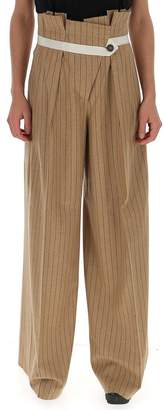Golden Goose Pinstripe Palazzo Trousers